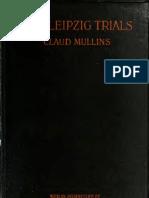 (1921) Leipzeig Trials