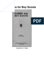 Games for Boy Scouts by g.s. Ripley
