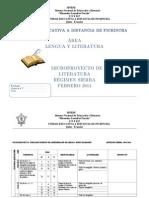 Proyecto II Quimestre Lengua y Lit.