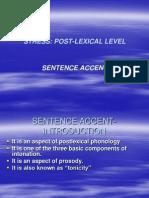 Stress Sentence Accent 4