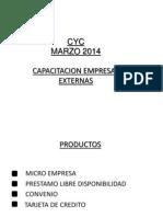 Capacitacion Empresa Externas Light