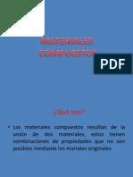 exposición de materiales compuestos