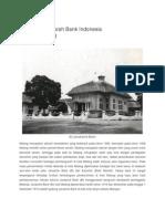 Perjalanan Sejarah Bank Indonesia Cabang