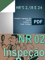 NR's 2,18 e 24