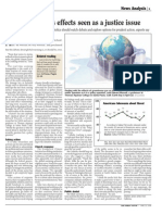 Global Warming's Effects Seen as a Justice Issue - Our Sunday Visitor April 23, 2006 by Stephen James