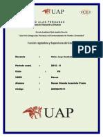 Funcion Reguladora y Supervisora Del Estado - Susan Glenda Acasiete