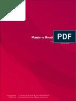 Mantano User Manual