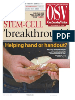 Getting to the Truth Behind Stem-Cell Breakthrough - Our Sunday Visitor October 17, 2006 by Stephen James