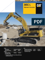 Catalog Hydraulic Excavator 365cl Caterpillar