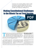 Constitutional Challenges to Illinois Tax on Trust Income