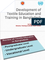 Tangail and Pabna Presentation on Textile Education in Bangladesh
