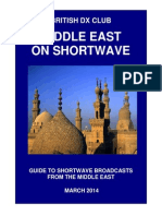 Middle East on Shortwave - By Country - March 2014