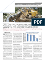 ¿Más gas natural boliviano para la Argentina por gasoducto alternativo?