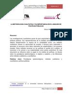 METODOLOGIACUALITATIVAYSUIMPORTANCIA_ANALISISPOLITICASPUBLICAS
