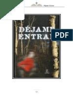 DÉJAME ENTRAR- John Ajvide