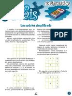 Um Sudoku Simplificado