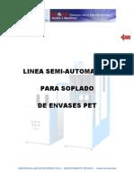 Manual Lineas de Soplado Semi-Automaticas