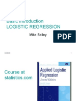 Basic Log Regress