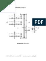 Diagramas de planta  y corte de subestaciones