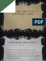 Software Privativo y Software Libre
