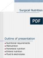 ISC Workshop - Surgical Nutrition and Fluid and Electrolytes - 2010