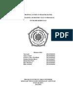Proposal Praktik Klinik Kebidanan
