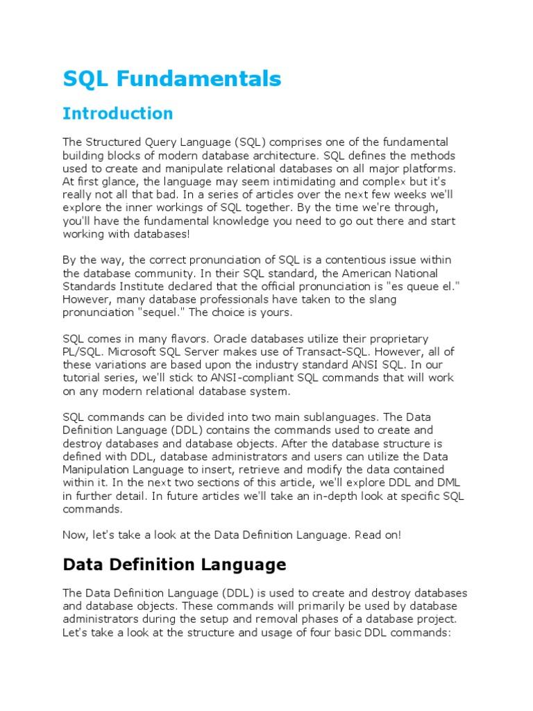 Sql basic sql databases baditri Image collections