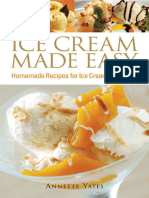 Ice Cream Made Easy Homemade Recipes for Ice Cream Machines - Annette Yates - Epub - Yeal