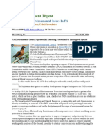 Pa Environment Digest March 10, 2014