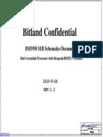 Lenovo b460 - Bitland Bm5958 - Rev 1.0sec