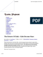 The Return Of Enki – Kids Become Stars | TERRAPAPERS