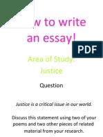 Copy of Justice Essay