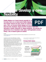 Displays Develop a New Flexibility