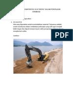 Jenis Dan Produktivitas Alat Berat Dalam Pekerjaan Drainase