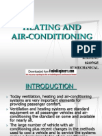 Heating and Air-conditioning