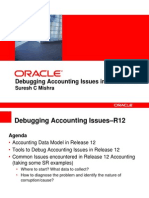 Debugging Accounting R12