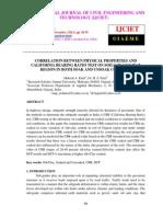 Correlation Between Physical Properties and California Bearing Ratio-libre
