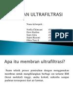 Membran Ultrafiltrasi