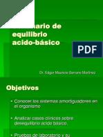 Seminario de Equilibrio Acido Basico