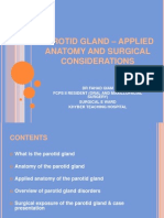Parotid Gland - Applied Anatomy and Surgical Considerations