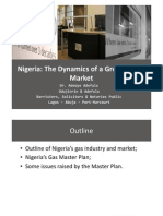 Nigeria the Dynamics of a Growing Gas Market - Presentation to the Africa Energy Forum 2008