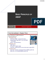 Basic Principles of ABAP