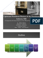 Upstream Petroleum Matters and the Petroleum Industry Bill - A Presentation at the LBS Roundtable