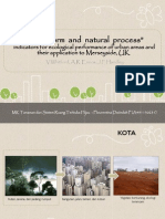 Journal City form and Natural Process- indicators for ecological performance of urban areas and their application to Merseyside, UK