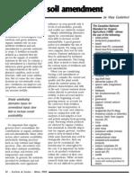 Soil Amendments(1)