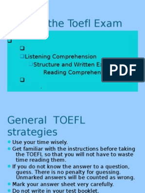 Tips for TOEFL Grammar   Verb   Noun