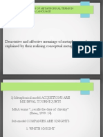 Affective meaning of M&A terms
