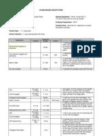 standardized recipe form final version