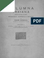 Teohari Antonescu, Columna Traiană, Vol 1