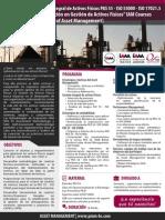 PMM-AM-003 gestión integral de activos físicos PAS 55 - ISO 55000 pmm business school